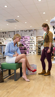 Deichmann, Hohen Neuendorf - Philips fashion lighting