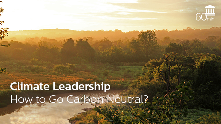 Climate Leadership - How to Go Carbon Neutral