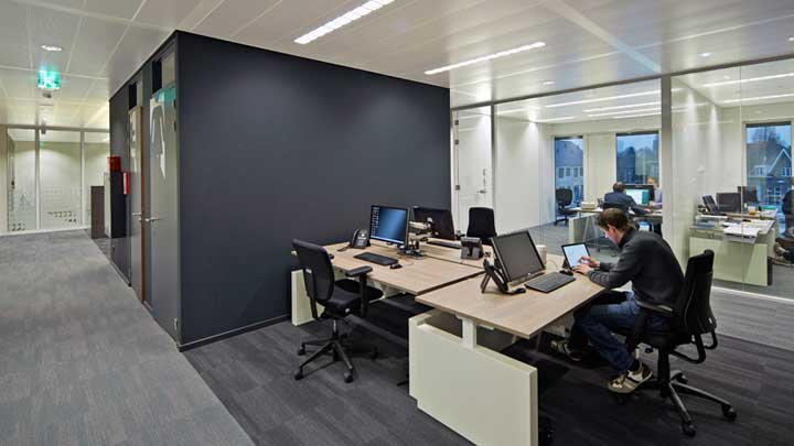 A meeting room at 'thuis in Eindhoven, The Netherlands