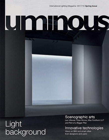 Luminous 16, International Lighting Magazine - Autumn 2015/16