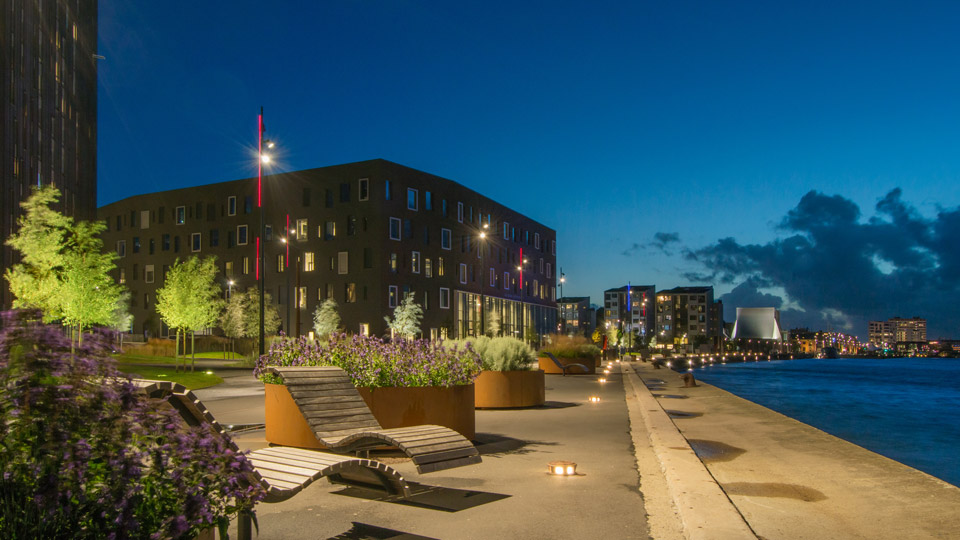 aalborg, denmark, House Of Music, Philips Lighting City People Light award