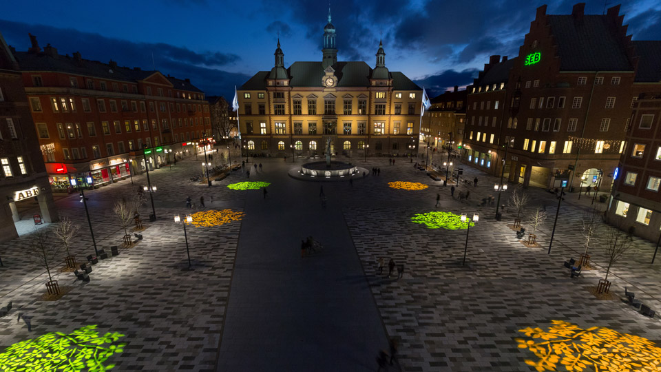 Fristadstorget, Sweden, Philips Lighting City People Light award