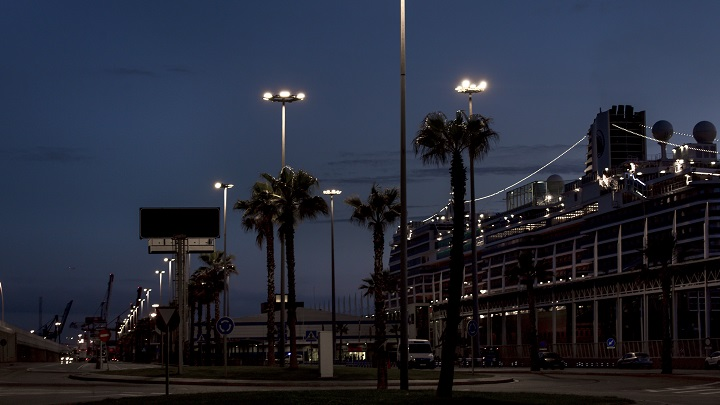 Barcelona port project with Philips Lighting