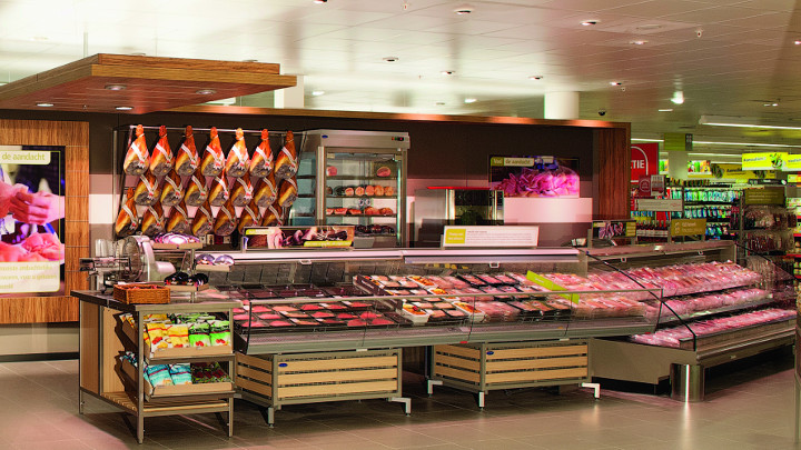 StoreWise LED supermarket lighting EDEKA Hamburg