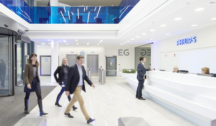 Philips Hamburg case study - Office lighting