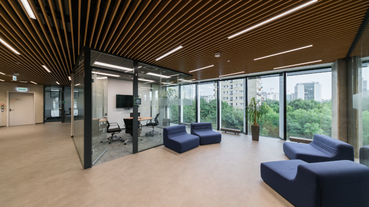 Skanska's new modern office