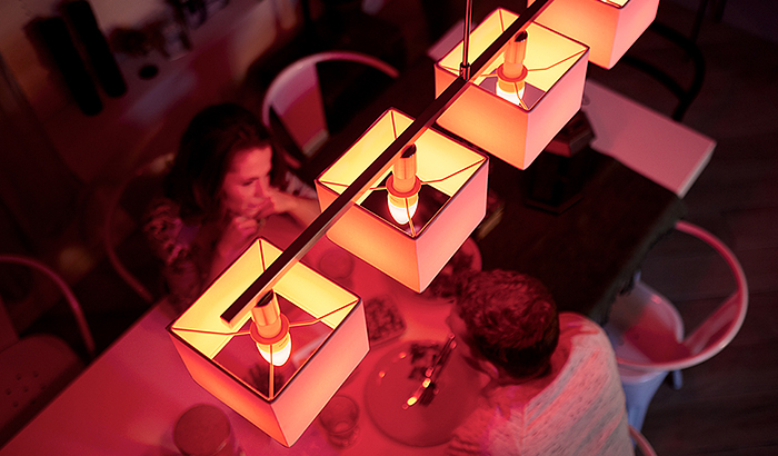 Bring your candle-lit dinner into the 21st century with the new Philips Hue E14 candle!