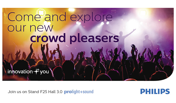 Philips Lighting set to rock Frankfurt at Europe's biggest entertainment technology expo