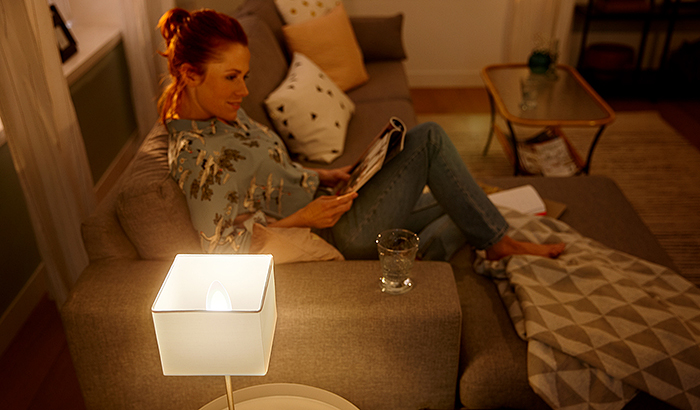Create a lullaby of light with Philips Hue white ambiance this World Sleep Day