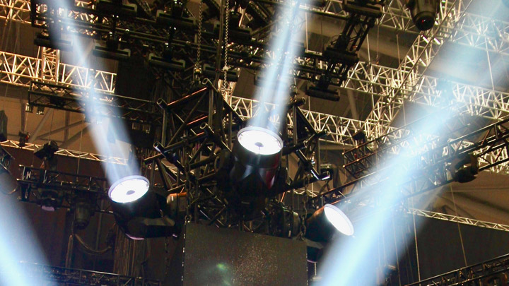 Philips Vl6000 Beams into Sweden's Melodifestivalen