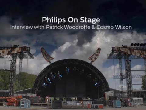 Philips On Stage interview with Patrick Woodroffe and Cosmo Wilson at AC/DC Rock or Bust tour 2015