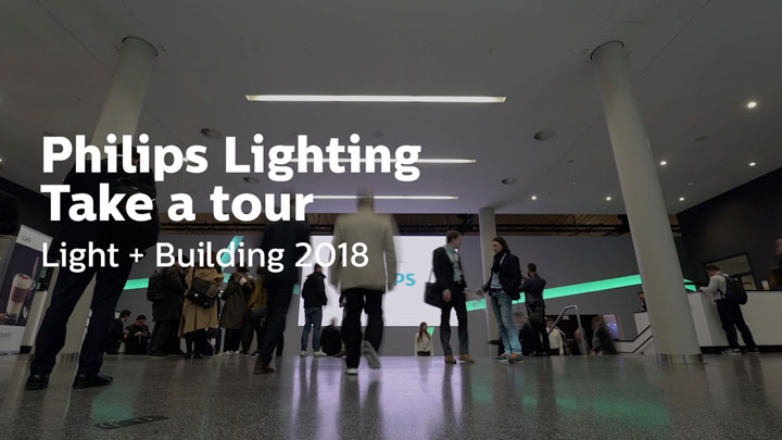 2018 Light + Building Our Booth