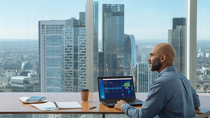 Philips Lighting's smart lighting system: Centrally hosted software dashboard lets you monitor luminaires and sensor insights centrally