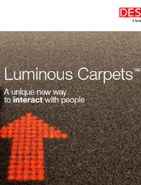 Luminous carpets brochure