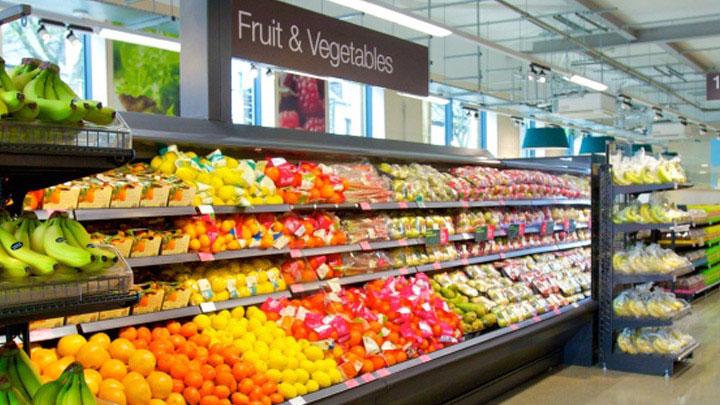 fresh produce in-store - Philips Fresh Food