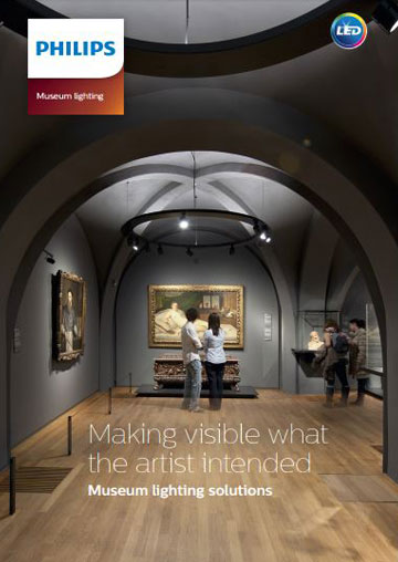 Museum lighting brochure