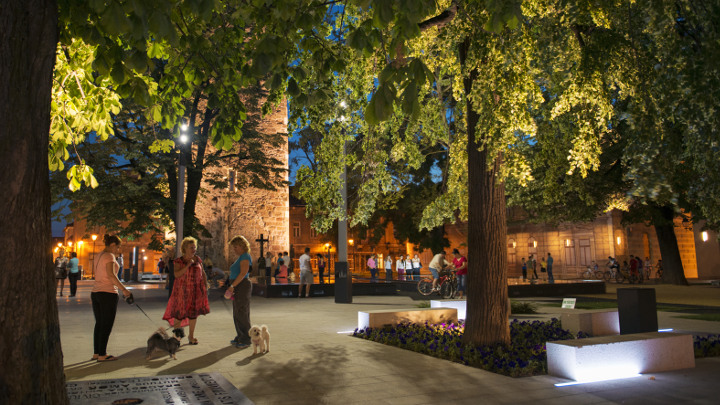 Baia Mare-Romania-urban lighting- Philips Lighting 2