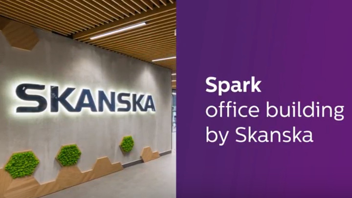 People-centric innovations in the new Skanska office